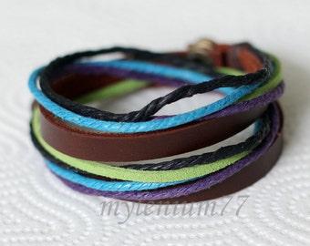 410 Men bracelet Women bracelet Bands bracelet Cords bracelet Ropes bracelet Bangle bracelet Leather bracelet Fashion bracelet