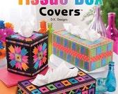 Plastic Canvas Patterns - Annie's Neon Tissue Box Covers
