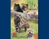 CAIRN TERRIER - Deck of Playing Cards