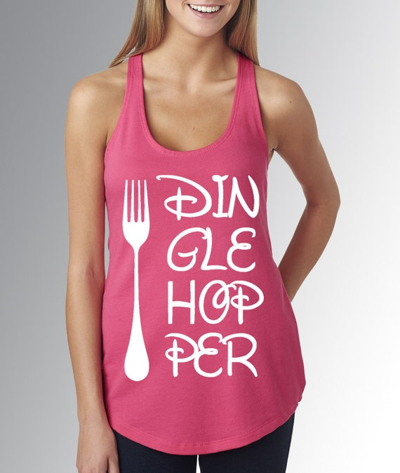 The little mermaid dinglehopper hot pink disney tank top for Hot pink running shirt