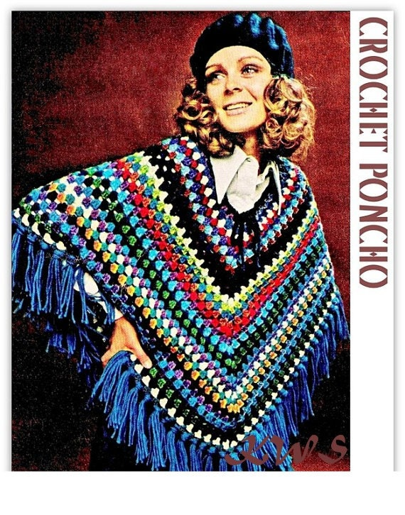 Outfit of the Weekend Poncho Instead of Make up