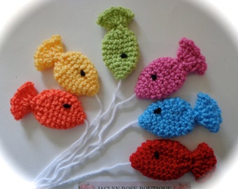 Crochet fish great for photo prop many colors to choose from Goes great with a fishing hat that I have listed on another listing.