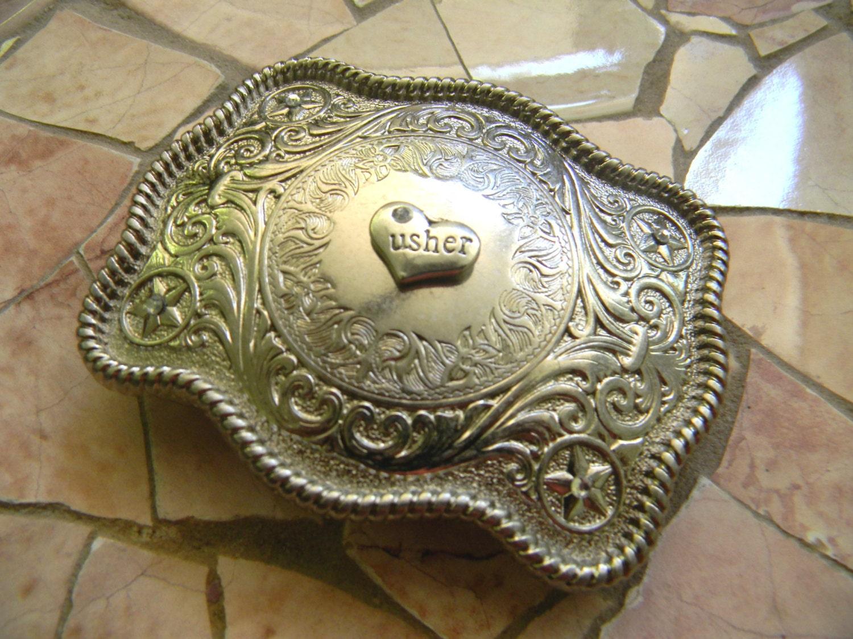 Cowboy Wedding Gifts: Usher Western Wedding Gift Groomsmen Usher Gift Country