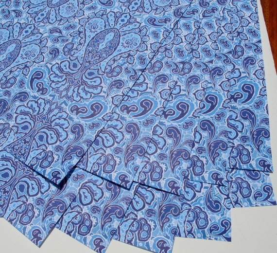 paisley wrapping paper