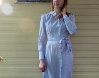 Blue Prairie Dress