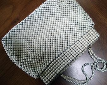Classic Whiting and Davis metal mesh handbag