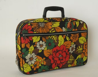 Vintage Carry On Small Suitcase JAPAN