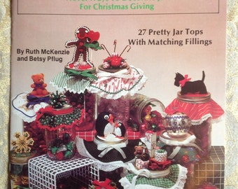 Christmas Jar Toppers pattern book