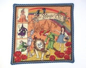 2 Kids Wizard Of Oz Snack Mats Quilted