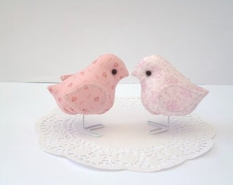 Fabric bird set