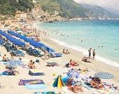 "11x14"" Custom Print of Monterosso Beach, Cinque Terre, Italy"
