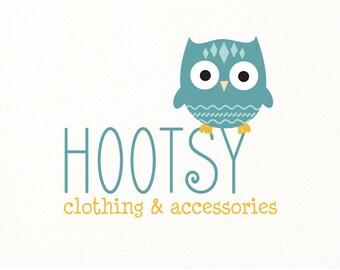 owl logo children's logo premade - Logo Design #108