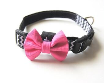 Mini Pink Dog Bow Tie