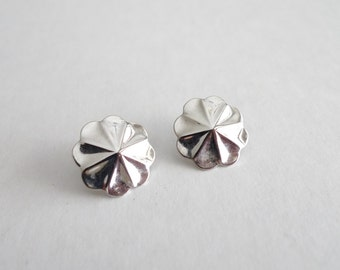 Silver Flower Vintage Earrings