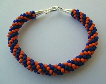 Houston Astros Bracelet, Houston Astros Jewelry, Houston Astros, Astros Baseball, Baseball Bracelet, Baseball Jewelry, Beaded Bracelet