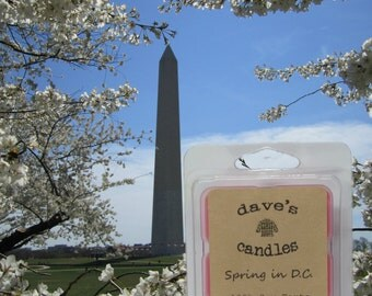 Spring in D.C. 100% Soy Wax Tarts