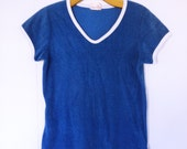 Royal Blue Terry Tee Two