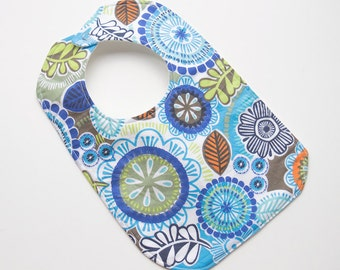 Designer Girl Baby to Toddler Bib - Mystic Jungle - One of a Kind - Ready to Ship