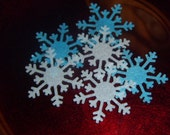 200 Edible Wafer Snowflakes