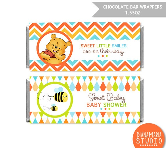 Winnie The Pooh Baby Shower Invitation is adorable invitation template