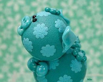 Mika Polymer Clay Piglet Figurine