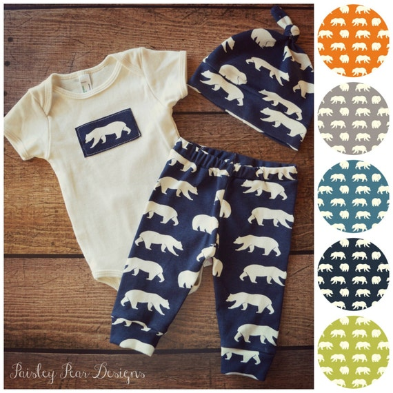 Baby Shower Gifts Organic ~ Baby organic bear gift set cute for shower by