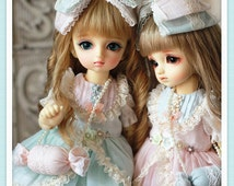 YoSD-Summer Candy Dress Set( 6 items)  For YOSD