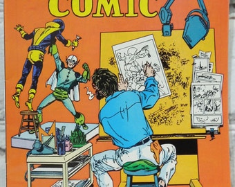 How to Draw Comics. Comic Book. Solsun Publications. Number 1 1985. Start a New Hobby or Career. Geeky Cool Wonderful and Unique Gifts.
