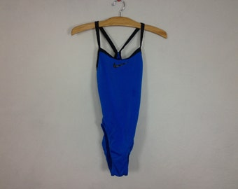 nike one piece swim suit size M