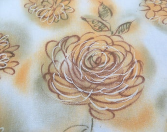 3.5 Yards of J.Manes Co. Vintage Cotton Fabric