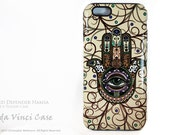 Hamsa iPhone 6 6s Case - Mystical Protection Hand With Eye iPhone 6s case - Artistic Dual Layer iPhone 6 6s Case by Da Vinci Case