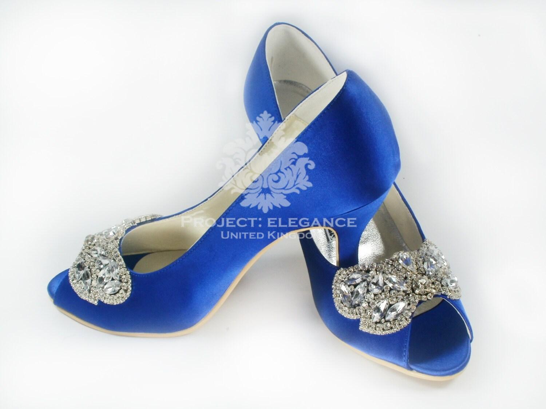 Blue Wedding Shoes Something Crystal