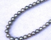 Super SALE Gray Freshwater Pearls, Near Round Pearls 8-9mm--set of 10