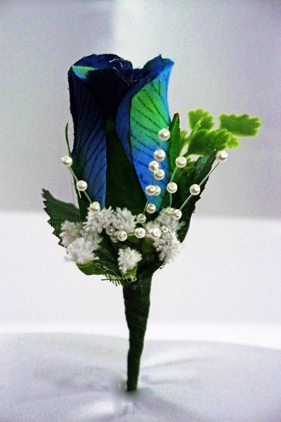 blue boutonniere royal blue wedding boutonnieres blue corsage. Black Bedroom Furniture Sets. Home Design Ideas