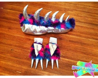 Galxy Monstar Tail & Paws