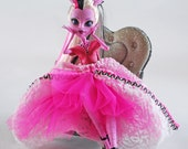 Monster doll High couture doll gown