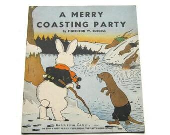 "Thornton W. Burgess, ""A Merry Coasting Party"", 1940"