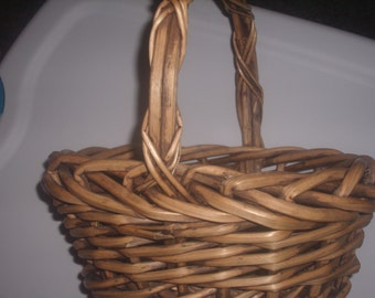 Vintage FRENCH WILLOW BASKET