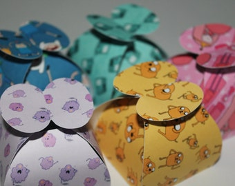 Adventure Time Inspired Favour Boxes