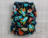 Tula Rockets, Retro Space Size All In One, All In Two, or Pocket Cloth Diaper