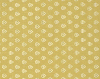 Lady Bug in Mustard from True Colors by Tula Pink for freespirit