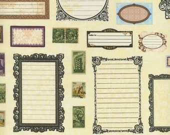 CLEARANCE Picture Frames from Adventures by Stephanie Wright/RJR Fabrics