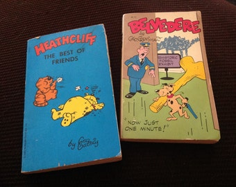 Vintage paperbacks - Heathcliff / Belvedere comic strip books