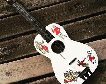 Vintage Emenee Teen Time Guitar