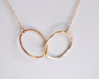 Interlocking Oval Necklace