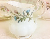 "Royal Albert ""Brigadoon"" Large Creamer"