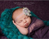 SET of FIVE DISCOUNTED Knit Wraps with 5 Free Headbands, Newborn Wrap, Infant Photo Shoot, Infant Wrap, Newborn Photo Prop, Maternity Wrap