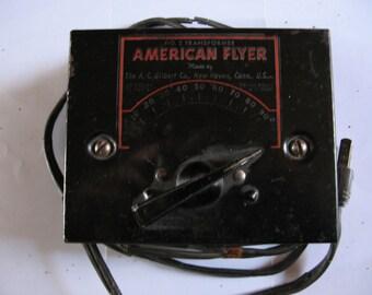 American Flyer Train Transformer