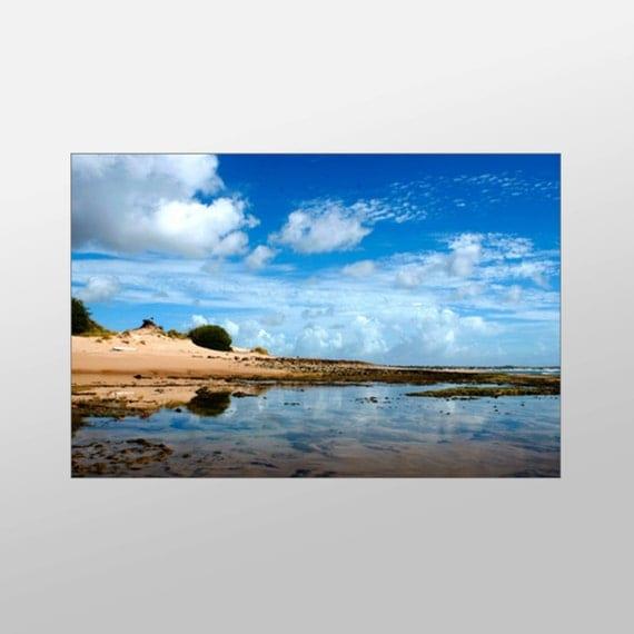beautiful beach canvas art beach scene wall art beach by xddesigns. Black Bedroom Furniture Sets. Home Design Ideas