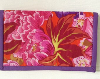 Kindle cover, sleeve or pouch in Philip Jacobs Rowan fabric